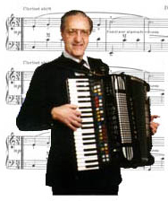 """ACCORDION SHEET MUSIC /""""YOU ARE THE DREAM POLKA/"""" BY DON GRZANNA"""