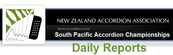 Daily Reports: 2016 South Pacific and New Zealand Championships and Festival