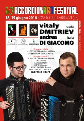 10th Accordion Festival poster