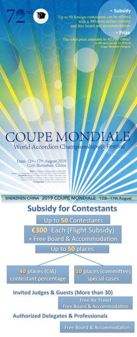 Coupe Mondiale Subsidy