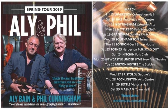 Aly Bain & Phil Cunningham Poster
