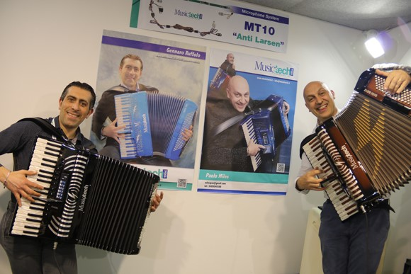 MusicTech: Gennaro Ruffolo (Italy) and Paolo Miles (Italy)