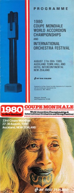 Coupe Mondiale booklet cover