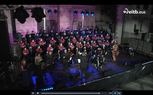Gorka with orchestra