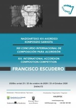 XIII Francisco Escudero International Composition Competition